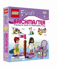 Glimpse: DK Discovery Day ~ Lego Brickmaster Friends ~ GIVEAWAY!