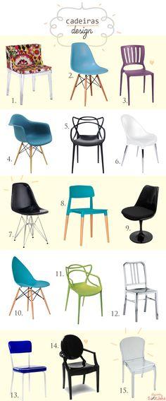 Onde comprar cadeiras design