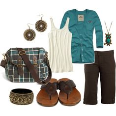 Love the color/owl/everything! #Outfit