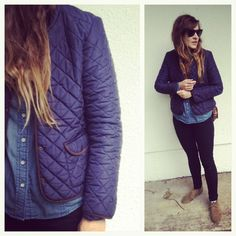 Inspiration for: quilted jacket.