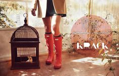 Nyxstyle #krack & #nyxstyle #hunter #shoes #boots #red #new #newcollection #winter #nuevacolección #otoño #invierno