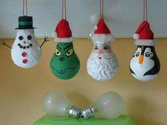 Light bulb decorations