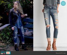 Maya's jeans on Girl Meets World.  Outfit Details: https://wornontv.net/58658/ #GirlMeetsWorld  Buy them here: http://wornon.tv/37017