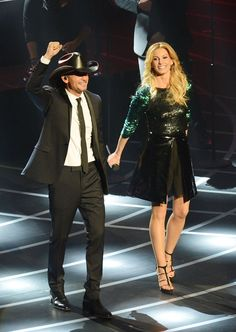 Faith Hill and Tim McGraw kick off their Vegas show!