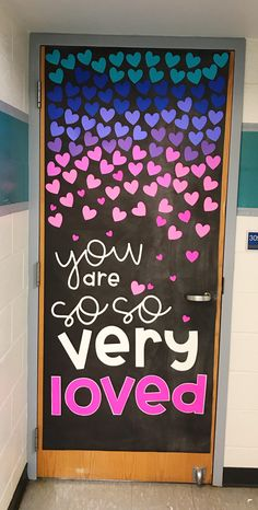 Snag this adorable door decor set to show your kiddos how much they are loved! Snag this adorable door decor set to show your kiddos how much they are loved! Classroom Setting, Classroom Design, Classroom Themes, Kindergarten Classroom Door, Future Classroom, Classroom Door Quotes, Holiday Classrooms, Classroom Board, Preschool Kindergarten