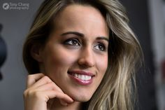 Anett #model #headshot #beauty #blonde #cute #hungariangirl #portrait #smile #tonyphoto