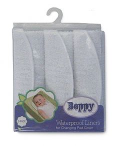 Boppy makes the best changing pad liners.