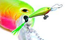 MärzBlatt - Fisch - Neongrün - Anhänger von rheinschauen auf DaWanda.com