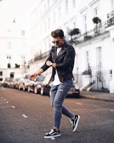 9306bdc78cb 5 Creative And Inexpensive Tricks  Urban Dresses Swag Jackets urban fashion  hipster sweaters. Camisa De Jean HombreTenis Blanco HombreEstilo ...