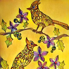 "Valentina Harper ""Creative coloring. Birds"""