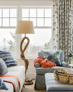 For us mere mortals, the dream of a beach house is enough to keep us going all summer. But should you actually find yourself lucky enough to own a seaside getaway, take a cue from these 13 summery, celebratory and definitely tasteful decorating ideas...none of which will make your pad feel like SeaWorld.