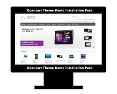 OpenCart Theme Installation & Demo Setup (+ Plugin & Logo Setup) by AritonangWofa Logo, Studio, Logos, Studios, Environmental Print