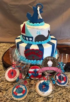 Cake fondant & cookies