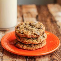 Dark Lindt Chocolate Drop Cookies w/ Sea Salt | I need to bake ...