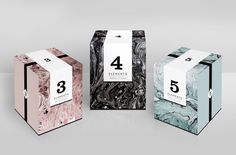 Elements Candle Packaging (Concept) on Packaging of the World - Creative Package Design Gallery Más Skincare Packaging, Perfume Packaging, Luxury Packaging, Soap Packaging, Pretty Packaging, Cosmetic Packaging, Brand Packaging, Design Packaging, Product Packaging