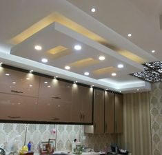 Gypsum Ceiling Design, Interior Ceiling Design, House Ceiling Design, Ceiling Design Living Room, False Ceiling Bedroom, Bedroom False Ceiling Design, Roof Design, Ceiling Decor, Modern Interior Design