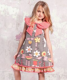 Another great find on #zulily! Indian Summer Kenzei Dress - Infant, Toddler & Girls #zulilyfinds
