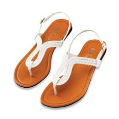 New Women T-Strap Gladiator Flats Sandals Flip Flops Shoes Size | eBay