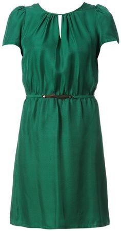 Sessun Pencil dresses - 8kenaston - Green on shopstyle.co.uk