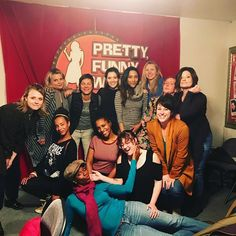 Im gonna miss these beauties once they graduate tomorrow night Im not gonna lie Im Funny Women, Comedy Show, Love My Job, Check It Out, Stand Up, Women Empowerment, Grateful, Actresses, Comics