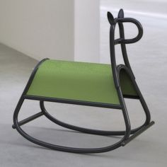 Front+designs+bent-wood+rocking+horse+for+Gebrüder+Thonet+Vienna