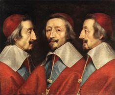 Cardinal Richelieu, by Phillipe de Champaigne