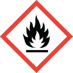 GHS Safety: Flame Hazard Pictogram Label, 4 x 4 (Pack of Sistema Global, Hazard Communication, Hazard Symbol, Dangerous Goods, Safety Posters, Safety Quotes, Starter Set, Shop Signs, Alcohol