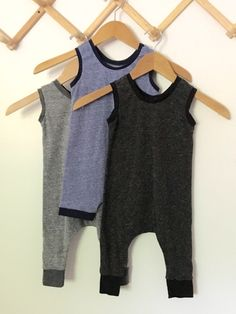 Rompers are always a wardrobe staple for babies and toddlers, and this closure-free knit romper provides ultimate comfort while showcasing major style.