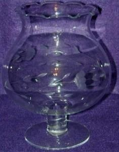 Mikasa Curtain Call Frosted Amp Clear Heavy Vase In Excellent Condition Glassware Mikasa Vase