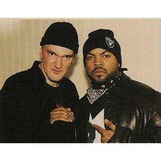 """Quentin Tarantino & Ice Cube"""
