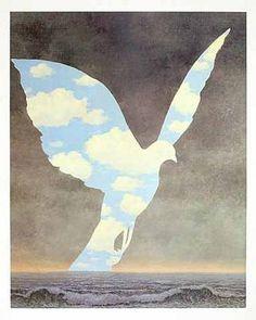 René Magritte-La grande famillle