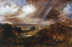 http://hoocher.com/John_Constable/Hampstead_Heath_with_a_Rainbow_1836.jpg