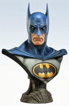 Bustos fodônicos e em tamanho real do Batman ~ SuperVault