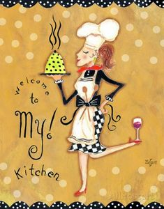 Welcome to My Kitchen Posters por Rebecca Lyon Kitchen Decor Signs, Chef Kitchen Decor, Vintage Kitchen Decor, Kitchen Art, Kitchen Country, Kitchen Posters, Kitchen Prints, Chef Pictures, Foto Transfer
