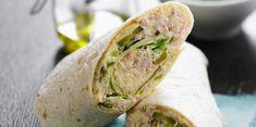 Wrap au thon - b - Bento Ideas Healthy Wraps, Healthy Snacks, Healthy Recipes, Avocado Recipes, Snack Recipes, Pizza Wraps, Taste Made, Expensive Taste, Wrap Sandwiches