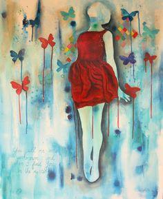 I find You in the unknown 110cmx90cm @ Nicolette Geldenhuys Art (fb)