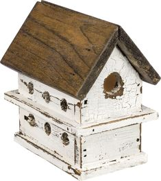 Lighted Chalet Birdhouse - Everyday | Primitives By Kathy
