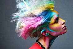 FRIDAY FUN-DAY!    What color of hair would you NEVER wear? How about rainbow hair?
