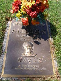 Davey Carl Allison; 1961-1993 Auto Race Care Driver. Born in Hollywood, Florida,... Hollywood Florida, In Hollywood, Jefferson County, Auto Racing, Race Cars, Drag Race Cars, Racing, Rally Car