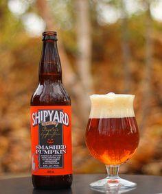 Shipyard Smashed Pumpkin - from Door County - ENJOY!