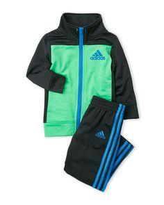 Adidas (Infant Boys) Two-Piece Color Block Tracksuit