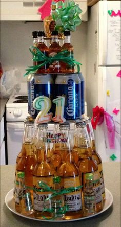 My daughter created this for her brother's 21st birthday.