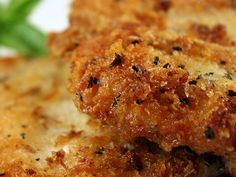 Breaded Baked Chicken Breast Recipe