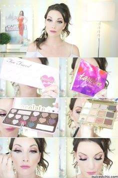 Check out these sinfully sweet Eye Makeup Palettes from Sephora perfect for creating that romantic dramatic eye makeup look - great for Valentine's date night and gift ideas. Chocolate Bonbons & Tartlettes - no calories! i will give you how to tips on my video tutorials! Oui C'est Chic!