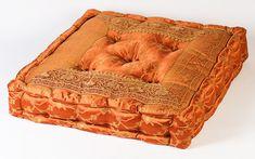 Orange lounging