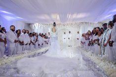 all white wedding!  Keyshia Ka'oir + Gucci Mane's Wedding | Bridal Styles Brides | Bridal Styles