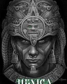 Image may contain: 1 personYou can find Aztec warrior and more on our website.Image may contain: 1 person Chicano Tattoos, Chicano Art, Mayan Tattoos, Mexican Art Tattoos, Inca Tattoo, Symbol Tattoos, Polynesian Tattoos, Tattoo Ink, Arm Tattoo