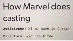 Chris Evans, Chris Hemsworth, and Chris Pratt can attest to this. #marvel #xman…
