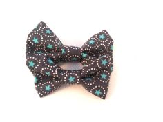 Cat Bow Tie / XS Dog Collar Addon Accessory  Teal by TheEmPURRium, $4.50