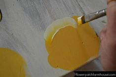 How to Paint a Yellow Rose, FlowerPatchFarmhouse.com